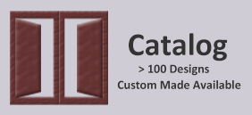Catalog | 100 Designs , custom made available