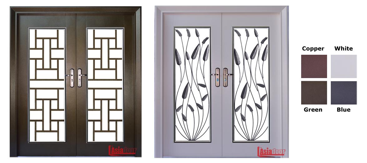 6x7 Security Door