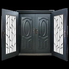 DD-9002 Design for Double Layer Door