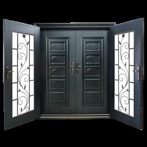 DD-9003 Design for Double Layer Door