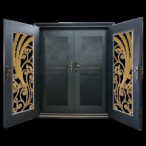 DD-9004 Design for Double Layer Door