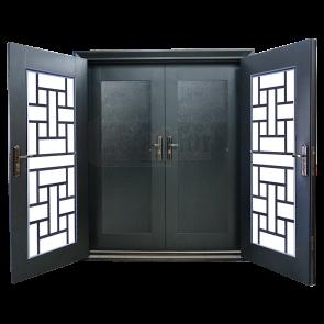 DD-9005 Design for Double Layer Door